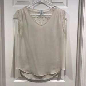 White lace top -Bar III